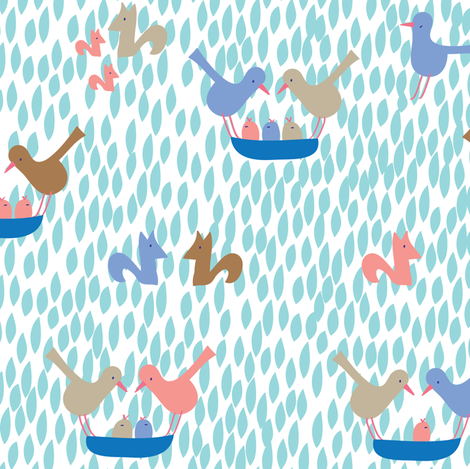 Family Love fabric by solvejg on Spoonflower - custom fabric