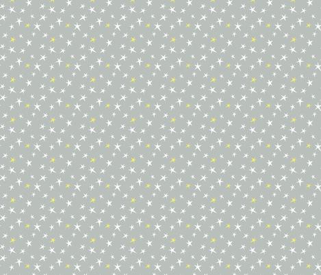 starry night fabric by shindigdesignstudio on Spoonflower - custom fabric