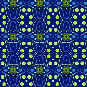 Nighttime Polka Dots