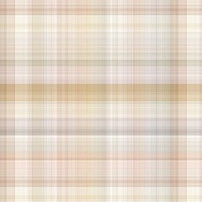 Beige and Cream Plaid