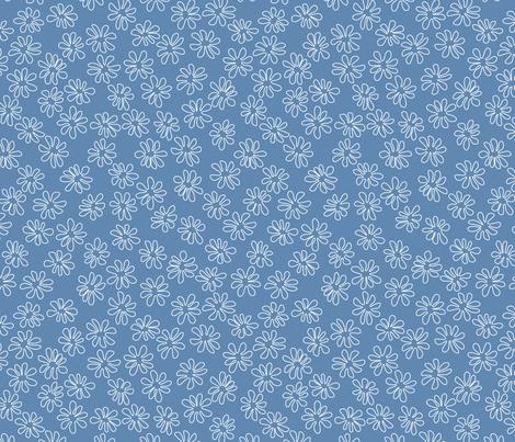 Gerberas In Old Blue