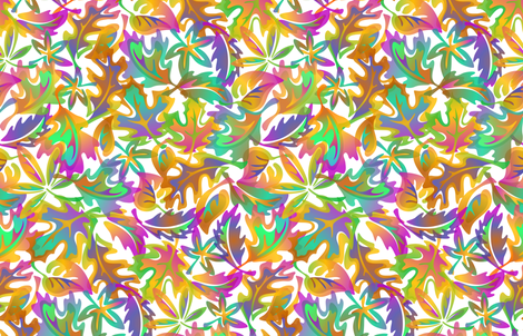 Leaf_Liscious fabric by margodepaulis on Spoonflower - custom fabric