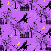 Witch Incoming Toile