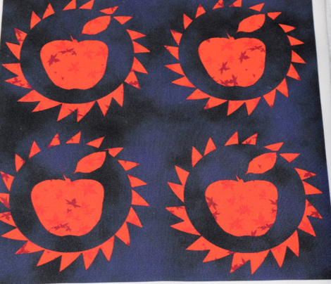 Red Apples at Midnight