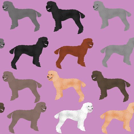 poodles purple cute poodle design poodle fabrics best poodles poodle fabric cute poodles standard poodle fabric by petfriendly on Spoonflower - custom fabric