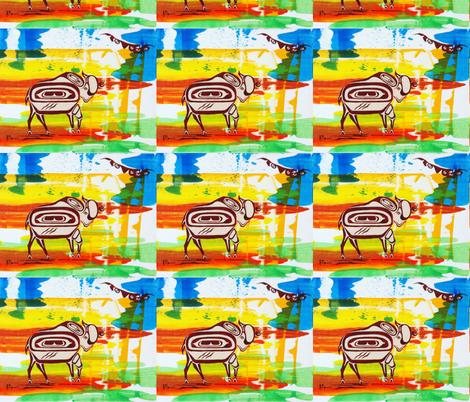 Buffalo fabric by jdaccess on Spoonflower - custom fabric