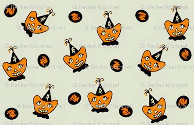 Little Miss Apple Cheeks Halloween