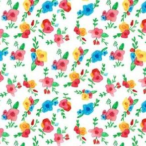 little watercolor blooms
