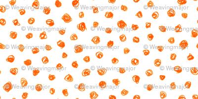 tachyon in crayon - solar orange