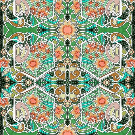 Windy Night Dreams  fabric by edsel2084 on Spoonflower - custom fabric