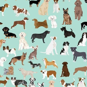 dogs mint cute dog design best dog breed fabric dog design dog pattern dogs