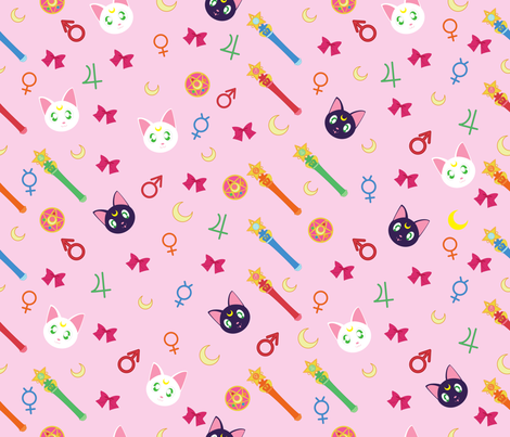 Sailor Icons fabric by youraveragenerd on Spoonflower - custom fabric