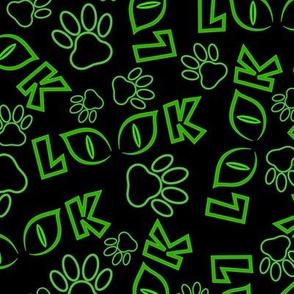 Feline View (Green)