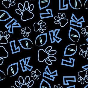 Feline View (Blue)