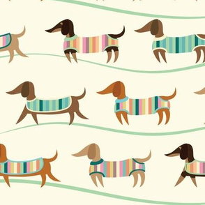 Wiener Dogs on Parade