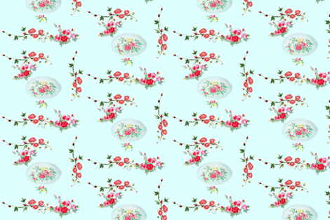 arbor vines tiffany  fabric by hunnellekari on Spoonflower - custom fabric
