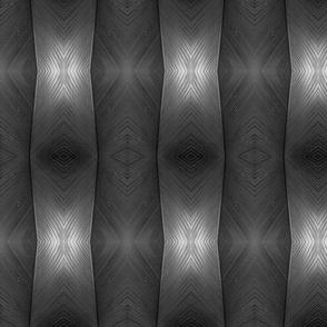Black & White Leaf Mirror
