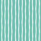 Beach Stripe Aqua
