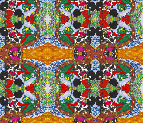 Surf's Up! fabric by valerie_dortona on Spoonflower - custom fabric