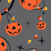 Halloween Magic Lg Scale-Gray