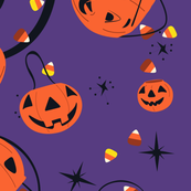 Halloween Magic Lg Scale-Purple