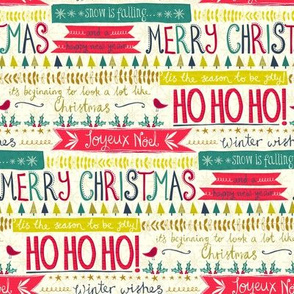 Christmas - Contemporary Typography