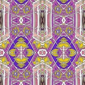 Nouveau Deco Kaleidoscope Batik