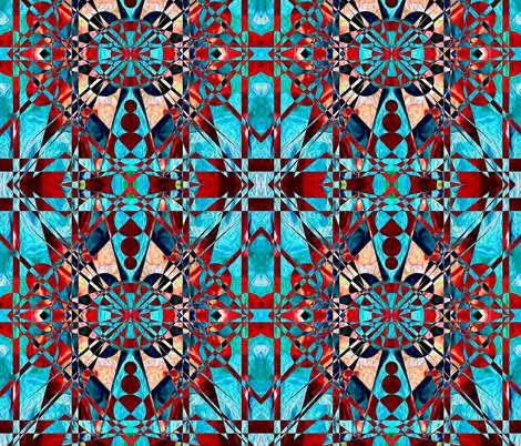 ¥Ω¥ fabric by th3gr3ymatt3r on Spoonflower - custom fabric