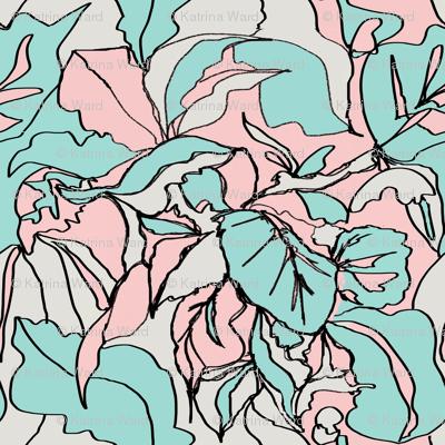 Pastel Botanical I