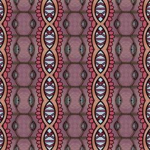 Boho Moroccan stripe