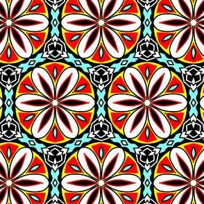 Temari kaleidoscope