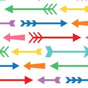 rainbow arrows XL