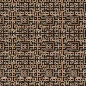 maze in black