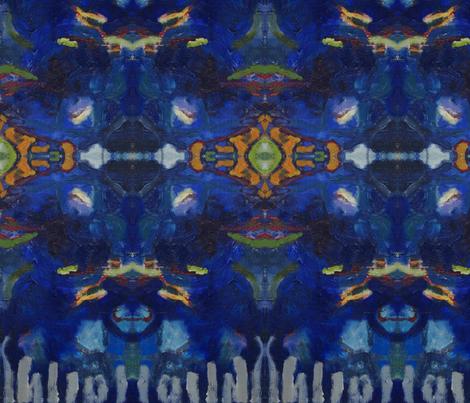 blue 2 fabric by mostlyamused on Spoonflower - custom fabric