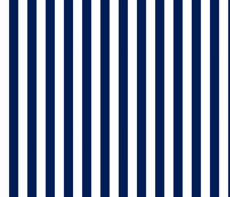 Navy Vertical Stripes fabric by feathersflights on Spoonflower - custom fabric