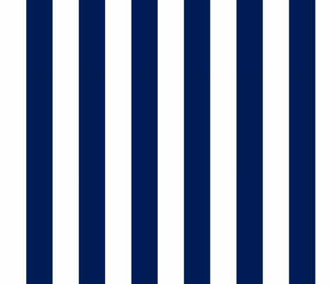 Big Navy Vertical Stripes fabric by feathersflights on Spoonflower - custom fabric