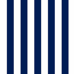 Big Navy Vertical Stripes