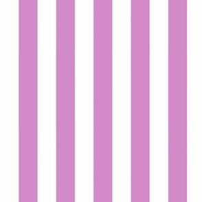 Big Purple Vertical Stripes