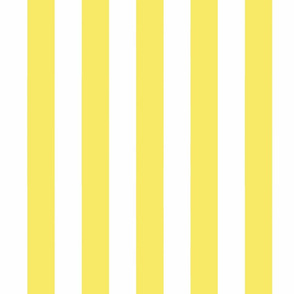 Big Yellow Vertical Stripes