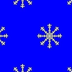 Azure, an Escarbuncle Argent