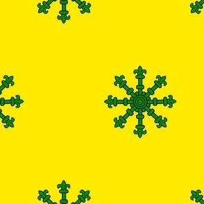 Or, an Escarbuncle Vert