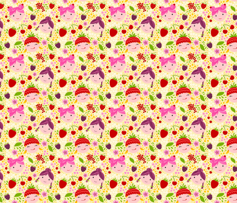 Berry Sweet fabric by doro_kaiser on Spoonflower - custom fabric