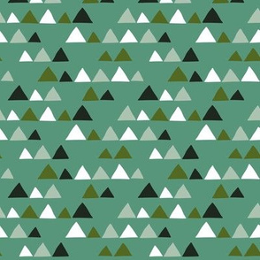 Herbs coordinate triangles (turquoise)