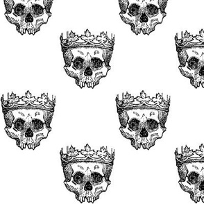 Skull King - white