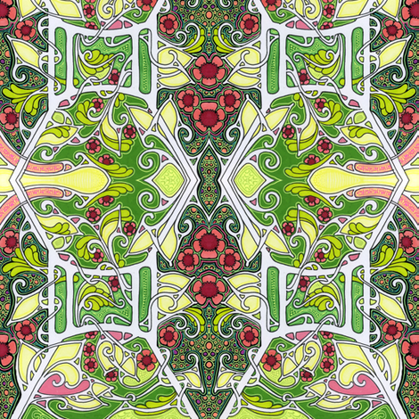 Another Peek at Spring fabric by edsel2084 on Spoonflower - custom fabric