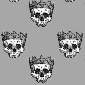 Skull King - Grey