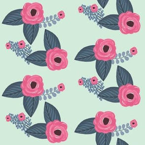Swifting Floral Mint