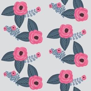 Swifting Floral Grey