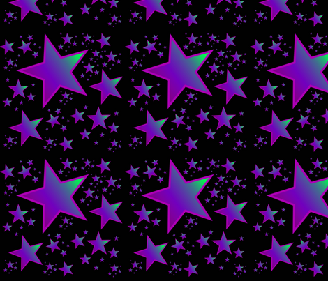 You're a star ! fabric by floramoon on Spoonflower - custom fabric