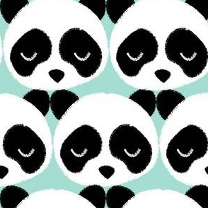 Panda Faces Mint